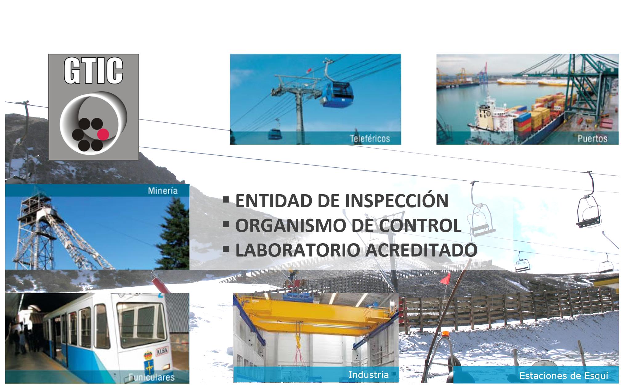 Sectores de aplicacion de la inspeccion de cables de acero